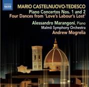 Alessandro Marangoni: Castelnuovo-Tedesco: Piano Concertos Nos. 1 & 2 - CD