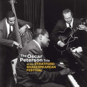 Oscar Peterson: At The Stratford Shakespearean Festival (Outstanding New Cover Art!) - Plak
