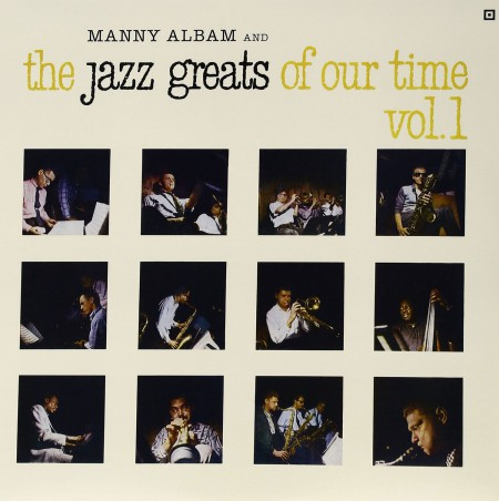 Manny Albam: And The Jazz Greats Of Our Time Vol. 1 - Plak