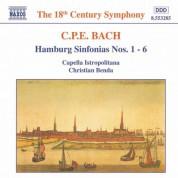 Bach, C.P.E.: Hamburg Sinfonias Nos. 1 - 6, Wq. 182 - CD
