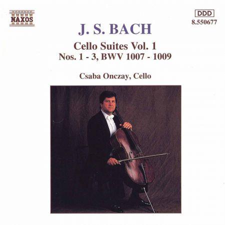 Bach, J.S.: Cello Suites Nos. 1-3, Bwv 1007-1009 - CD