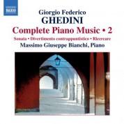Massimo Giuseppe Bianchi: Ghedini: Complete Piano Music, Vol. 2 - CD