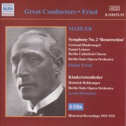 Mahler: Symphony No. 2  / Kindertotenlieder (Fried) (1915-1931) - CD