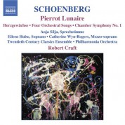Robert Craft: Schoenberg: Pierrot Lunaire / Chamber Symphony No. 1 / 4 Orchestral Songs - CD