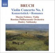 Maxim Fedotov: Bruch: Violin Concerto No. 1 / Konzertstuck / Romance, Op. 42 - CD