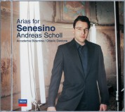 Accademia Bizantina, Andreas Scholl, Ottavio Dantone: Andreas Scholl - Arias For Senesino - CD
