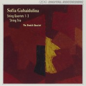 The Danish Quartet, Sofia Gubaidulina: Sofia  Gubaidulina - String Quartets 1-3 & String Trio - CD