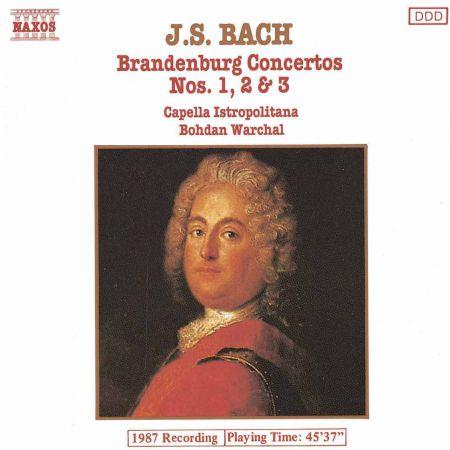 Capella Istropolitana: Bach, J.S.: Brandenburg Concertos Nos. 1-3 - CD