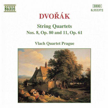 Vlach Quartet Prague: Dvorak, A.: String Quartets, Vol. 2 (Vlach Quartet) - Nos. 8, 11 - CD