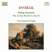 Vlach Quartet Prague: Dvorak, A.: String Quartets, Vol. 2 (Vlach Quartet) - Nos. 8, 11 - CD