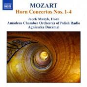Jacek Muzyk: Mozart: Horn Concertos Nos. 1-4 - CD