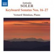 Vestard Shimkus: Soler: Keyboard Sonatas Nos. 16-27 - CD