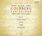 Pieter-Jan Belder, Yuan Sheng, Elena Barshai, Amati String Trio: J.S. Bach: Goldberg Variations - CD