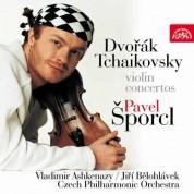 Czech Philharmonic Orchestra, Pavel Sporcl: Dvorak, Tchaikovsky: Violin Concertos - CD