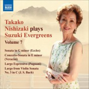Takako Nishizaki Plays Suzuki Evergreens, Vol. 7 - CD