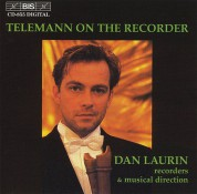 Dan Laurin: Telemann on the Recorder - CD