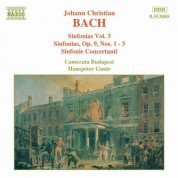 Bach, J.C.: Sinfonias, Vol.  3 - CD