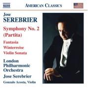 José Serebrier: Serebrier: Symphony No. 2, 'Partita' / Fantasia / Violin Sonata / Winterreise - CD