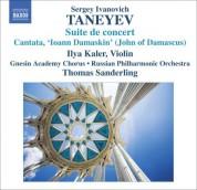 Thomas Sanderling: Taneyev, S.I.: Suite De Concert / Ioann Damaskin (John of Damascus) - CD