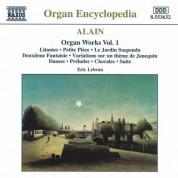 Eric Lebrun: Alain: Organ Works, Vol.  1 - CD
