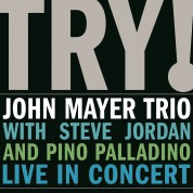 John Mayer: Try! Live In Concert - Plak