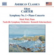 Carter: Piano Concerto / Symphony No. 1 / Holiday Overture - CD
