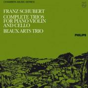 Beaux Arts Trio: Schubert: Complete Trios For Piano, Violin And Cello - Plak