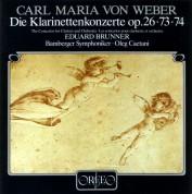 Eduard Brunner, Bamberger Symphoniker, Oleg Caetani: Weber: Clarinet Concertos Nos. 1, 2 & Clarinet Concertino in E-Flat Major, Op. 26 - Plak