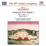 Stamitz, J.: Orchestral Trios Nos. 1 - 3, Op. 1 and No. 3, Op. 4 - CD