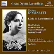 Donizetti: Lucia Di Lammermoor (Pagliughi, Malipiero) (1939) - CD