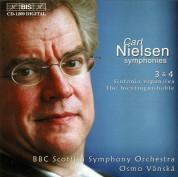 BBC Scottish Symphony Orchestra, Osmo Vänskä: Carl Nielsen: Symphonies 3 & 4 - CD