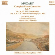Mozart: Piano Concertos Nos. 5 and 26 / Rondo, K. 382 - CD