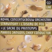 Mariss Jansons, Royal Concertgebouw Orchestra: Stravinsky: L'Oiseau de Feu, Le Sacre du Printemps - SACD