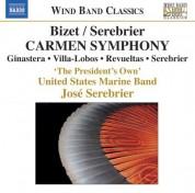 José Serebrier: Bizet / Serebrier: Carmen Symphony and Other Works - CD