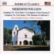 Willson, M.: Symphonies Nos. 1 and 2 - CD