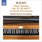 Haydn: Piano Sonatas Nos. 43, 44 and 47 / Un Piccolo Divertimento - CD