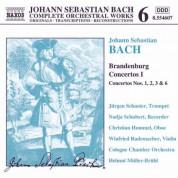 Cologne Chamber Orchestra, Helmut Muller-Bruhl: Bach: Brandenburg Concertos I - CD