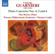 Max Barros: Guarnieri: Piano Concertos Nos. 4-6 - CD