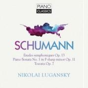 Nikolai Lugansky: Etudes Symphoniques Op.13, Piano Sonata No. 1, Toccata - CD
