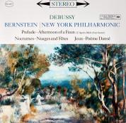 Leonard Bernstein, New York Philharmonic Orchestra: Debussy: Prélude, Nocturnes,  A l'Après-Midi d'un faune - Plak