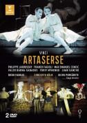 Philippe Jaroussky, Max Emanuel Cencic, Valer Barna-Sabadus, Franco Fagioli, Concerto Köln, Diego Fasolis: Leonardo Vinci: Artaserse - DVD