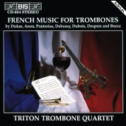Triton Trombone Quartet: French Music for Trombone Quartet - CD