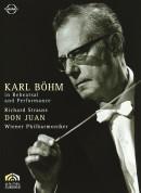 Karl Böhm, Wiener Philharmoniker: Strauss: Don Juan - Karl Böhm in Rehearsal and Performance - DVD