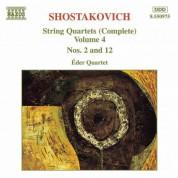 Shostakovich: String Quartets Nos. 2 and 12 - CD