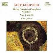 Shostakovich: String Quartets Nos. 2 and 12 - CD