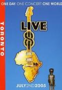 Çeşitli Sanatçılar: Live 8  'Toronto' - DVD