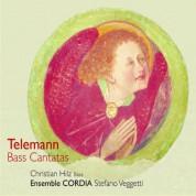 Christian Hilz, Ensemble Cordia, Stefano Veggetti: Telemann: Bass Cantatas - CD