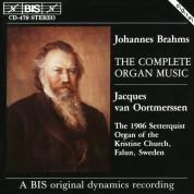 Jacques van Oortmerssen: Brahms: The Complete Organ Music - CD