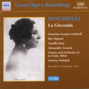 Ponchielli: Gioconda (La) (La Scala) (1931) - CD
