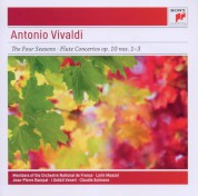 Lorin Maazel, Orchestre National de France, Jean-Pierre Rampal, Claudio Scimone, I Solisti Veneti: Vivaldi: The Four Seasons, Flute Concertos Op. 10 nos 1-3 - CD